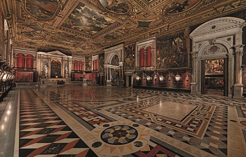 Scuola di San Rocco Tintoretto Scuola San Rocco Salone