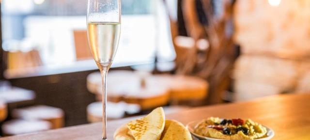 Champagne et mezzés orientaux